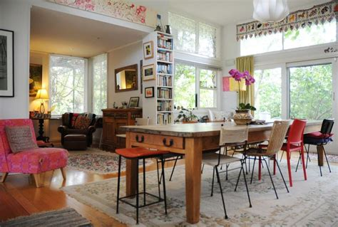 eclectic dining room  lucid interiors love