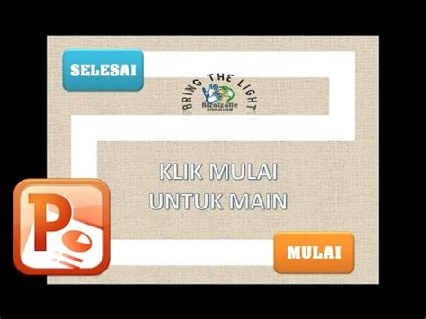 cara membuat quiz power point cara membuat game dengan ms powerpoint 2 membuat