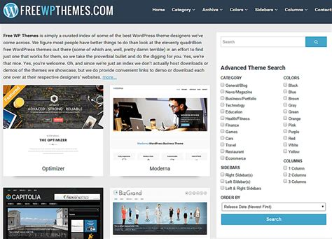wordpress themes free gpl the 10 top places to download free wordpress themes