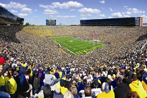 big house capacity michigan to reduce big house capacity by 2 300 seats crain s detroit business