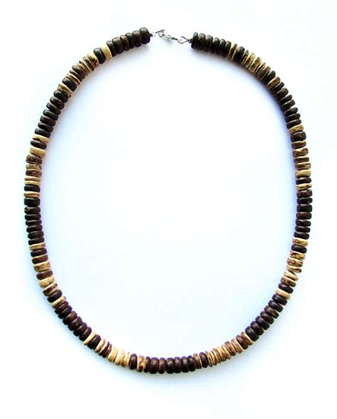 mens wooden beaded necklaces woodgrain mens beaded necklace for hikers of the