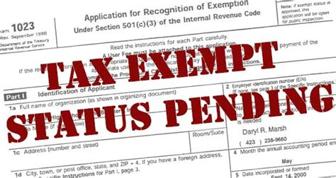 is your tax exempt status in jeopardy charity