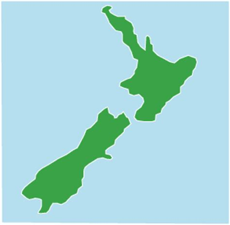 How To Draw New Zealand Map