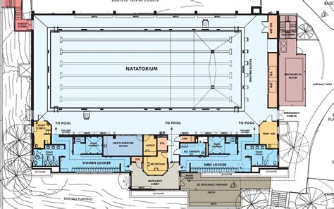 pool houses floor plans rossi pool recreation center to undergo 8 2 million