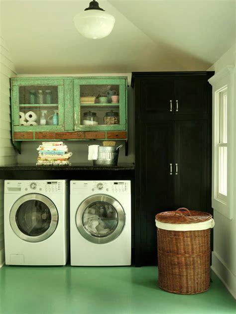 Green Laundry Room Vintage Laundry Room Bhg Green Laundry