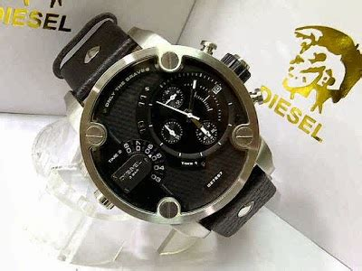 Jam Tangan S W A T Black Leather jam tangan diesel dz7259 silver black leather 5 2cm