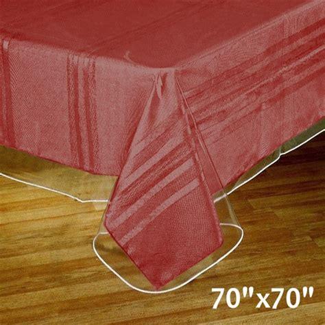 clear vinyl table covers clear vinyl table covers heavy duty table covers depot