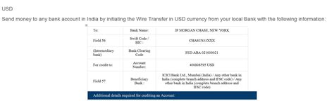 transfer icici bank re wire transfer icici bank india upwork community