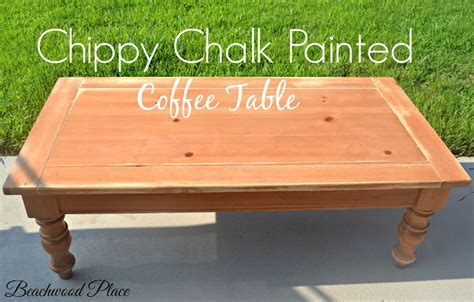 chalk painted coffee tables beachwood place chippy chalk painted tables