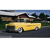 RESTYLING 1957 Chevy Pick Up  Custom Car ChronicleCustom