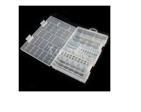 Alkaline Battery Shelf by Battery Storage Box For Alkaline Batteries Aaa Aa C D 9v