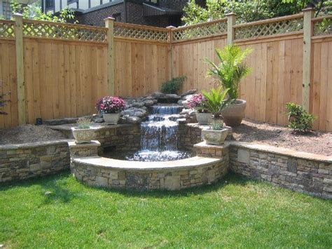 Backyard Water Ideas by 25 Best Ideas About Backyard Water Feature On