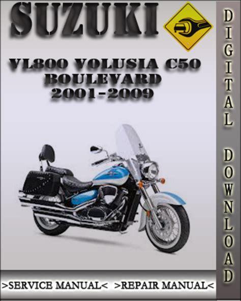 small engine repair manuals free download 2009 suzuki equator user handbook 2001 2009 suzuki vl800 volusia c50 boulevard factory service repair