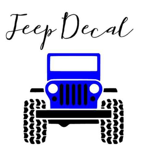 Cool Jeep Stickers Jeep Decal