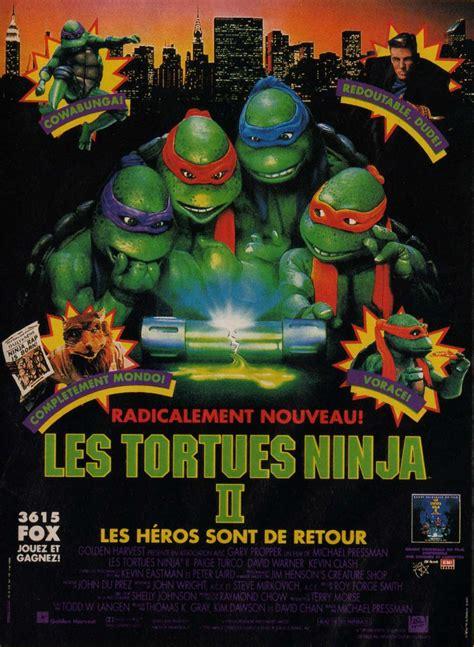 film tortue ninja en francais bande annonce les tortues ninja 2 bande annonce vo