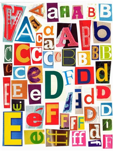 printable magazine letters mamavonteacher printable magazine letters