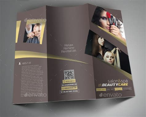 20 salon brochure templates psd vector eps jpg