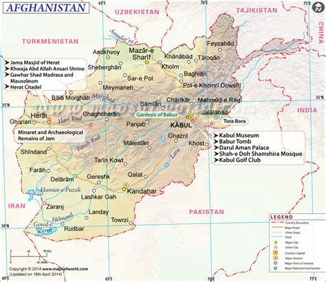 map of af afghanistan map map of afghanistan