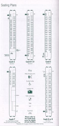 Caledonian Sleeper Layout by Chartering Great Western Fgw Plan Flickr