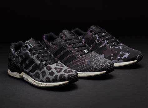 black pattern zx flux sns x adidas zx flux quot pattern pack quot sneakernews com