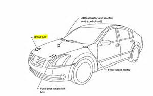 nissan an ecm relay location nissan free engine image for user manual
