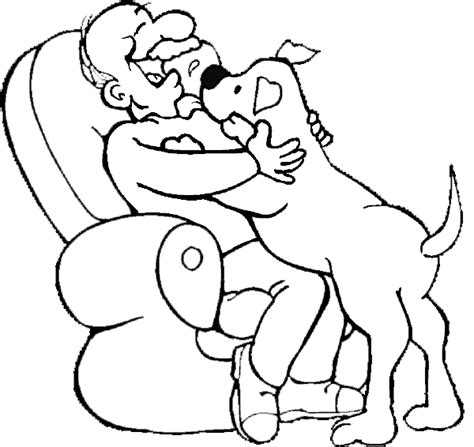 Dog Coloring Pages Color This Picture Of A Dog Giving His Coloring Pages For Seniors