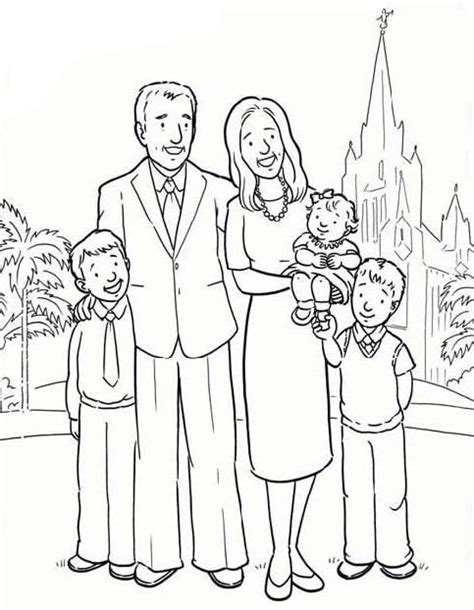 fathers day coloring pages lds families are forever fathers day pinterest churches