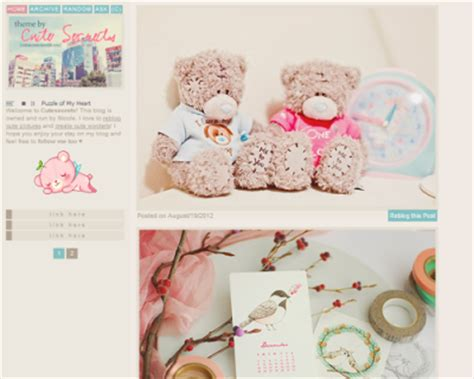 tumblr themes html kawaii k a w a i i l a y o u t s a collection of cute tumblr