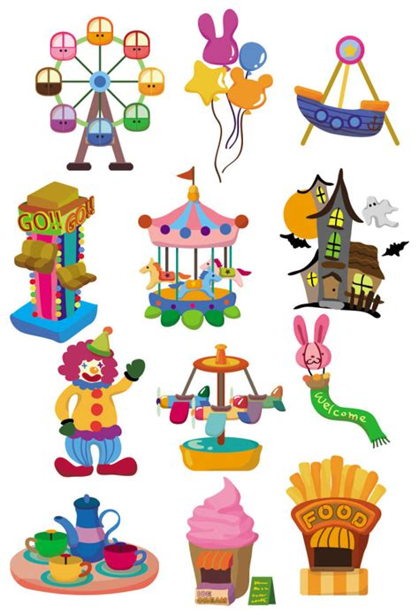 Blinds Clip Keywords Cute Playground Icon Equipment Balloons