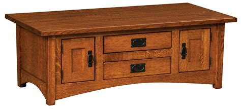 arts crafts cabinet coffee table amish custom furniture