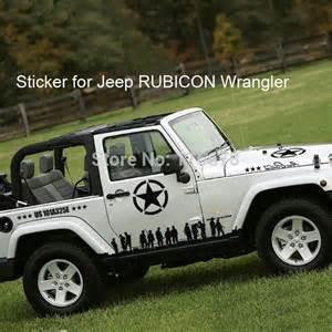 Decals For Jeeps Black Rubicon Wrangler Oscar Mike Oscarmike