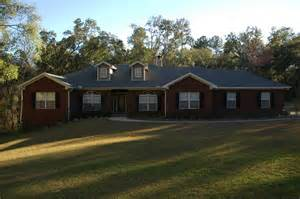 one story brick house plans brick one story house plans