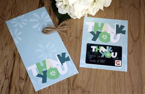 Thank You Gift Card Holders - free printable thank you gift card holder gcg