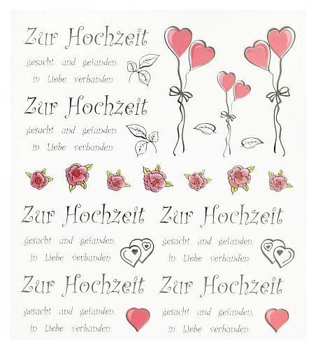 Deko Sticker Hochzeit by Bild Vergr 246 223 Ern
