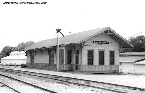bay springs mississippi 1968 gulf mobile ohio depot