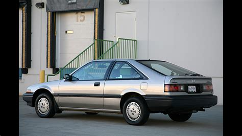 87 Honda Accord Hatchback by Commuter Classic This 87 Honda Accord Still Looks Brand New