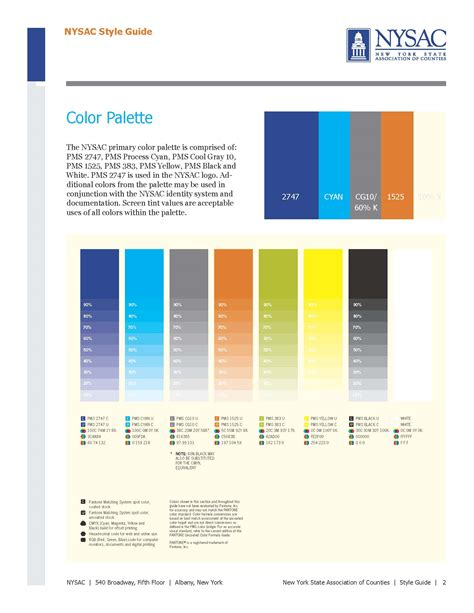 visual style guide template visual style guide template creative company expands nysac