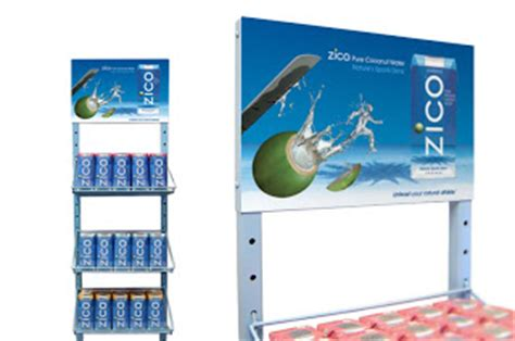 Shelf Of Coconut Water by Competitive Advertising Project Zico Coconut Water