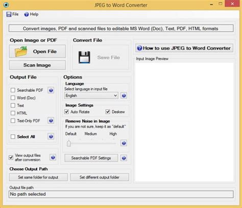 convert scanned pdf to word cnet using ocr software to convert jpeg file to ms word
