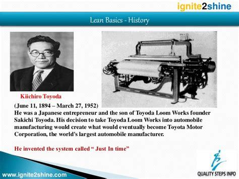 Toyota Lean Manufacturing Lean Lean Manufacturing Lean Production Toyota