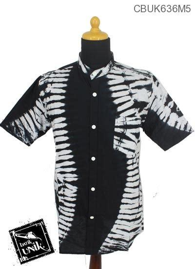Stelan Anak Motif Batik Hitam Putih Berompi Size 80 120 baju batik kemeja kerah koko motif jumputan hitam putih koko batik murah batikunik
