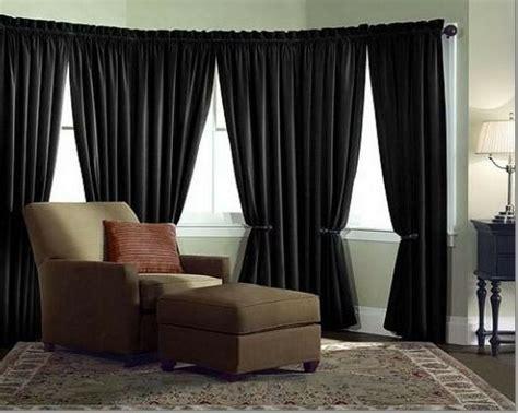 velvet curtain panel drape    black home theater