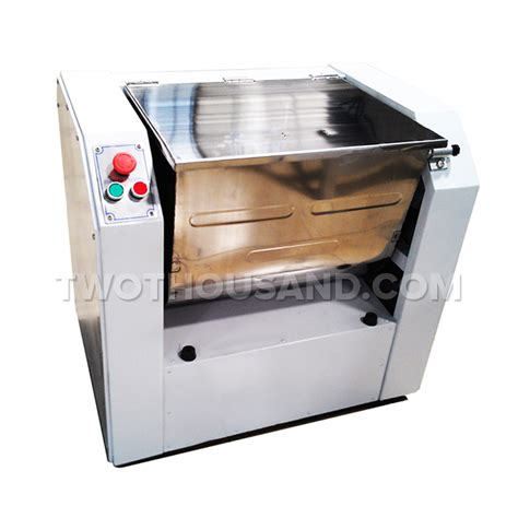 kinds of blades 100l 3 kinds of blades single speed horizontal dough mixer