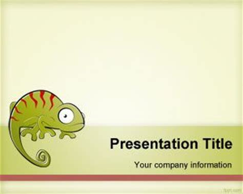 free animal print frame powerpoint