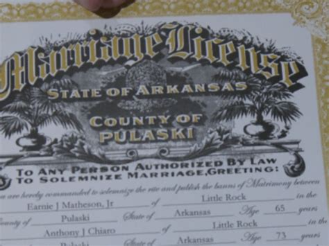 Arkansas Marriage License Records Eureka Springs Courthouse Embraces Same Ruling