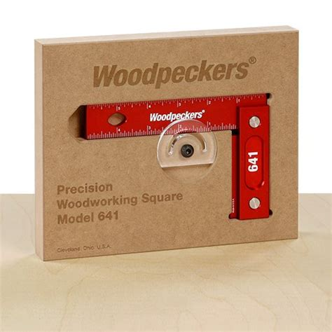 precision woodworking square woodpeckers 641 and 851 precision woodworking squares