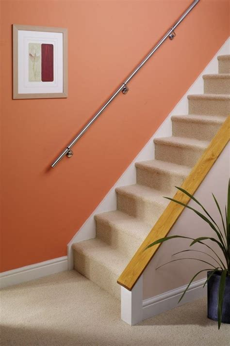 stair banister rail stairs staircase handrail banister rail support kit 3 6m