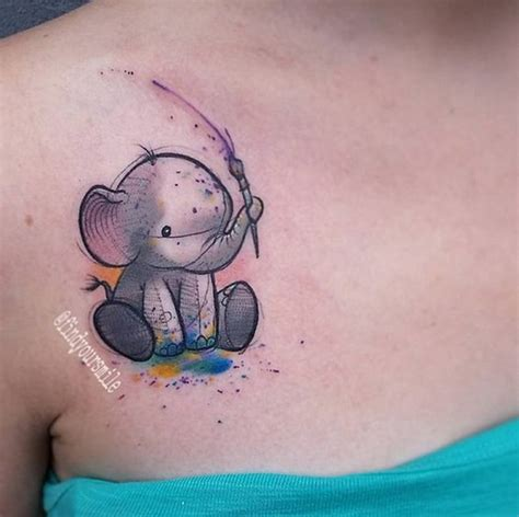 baby elephant tattoo designs 101 elephant designs that you ll never forget