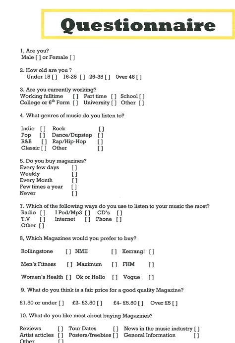 blogger questionnaire january 2011 tawanda3000 s blog