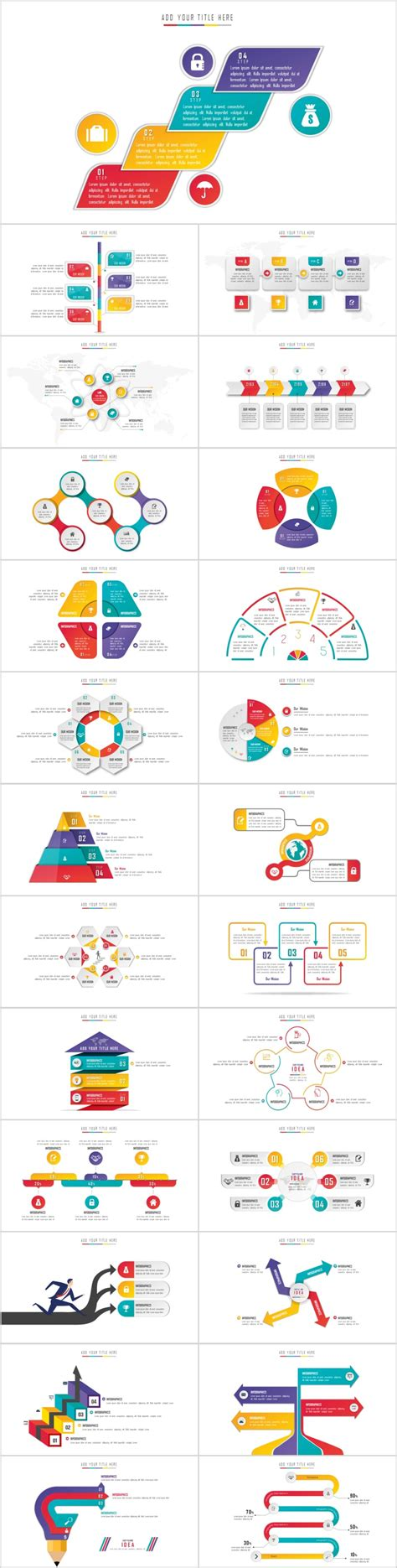 creative the highest quality powerpoint templates and 25 creative charts powerpoint template the highest